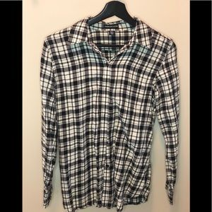 American living plaid long sleeve (Size S)
